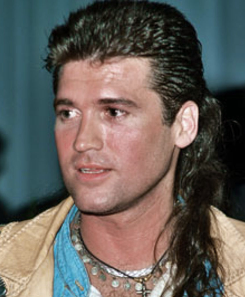 Billy Ray Cyrus Mullet Singer Songwriter. Achy-Breaky, no mistakey... It's a Kentucky Waterfall on a Kentucky native.